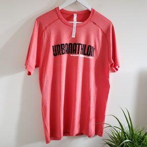 Lululemon athletica Men's urbanathlon t shirt L